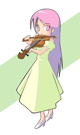 ヴァイオリンの人ピンク.jpg